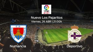 Previa del encuentro: el Deportivo visita al Numancia en el Nuevo Los Pajaritos