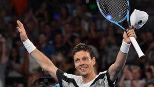 Punto y final a la carrera del gigantón checo en la ATP