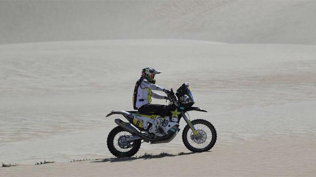 Quintanilla vuelve a líderar en el Dakar de motos en su sexta jornada