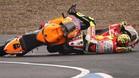 Rossi tiró a Stoner en Jerez 2011