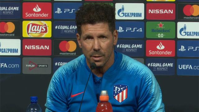 Simeone: Las expectativas son buenas y nos van a exigir