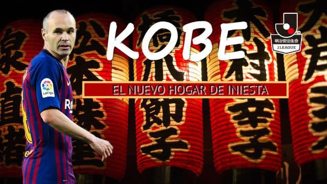 Todo lo que necesitas saber sobre Kobe, el nuevo hogar de Iniesta