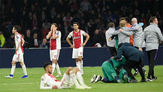 El Tottenham hunde al Ajax en el minuto 95 y se clasifica para la final de la Champions