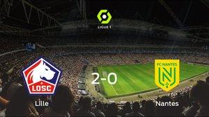 Tres puntos para el equipo local: OSC Lille 2-0 FC Nantes