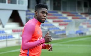 Umtiti ha entrado con buen pie al Barça