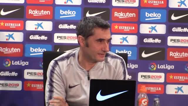 Valverde habló sobre Rubi, el técnico del Espanyol