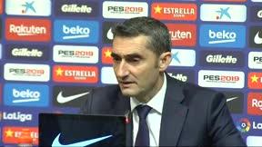 Valverde hace balance de final de año y lo que espera de 2019