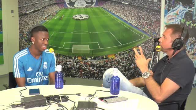 Vinicius: Me veo ganando el Balón de Oro con 25 o 26 años