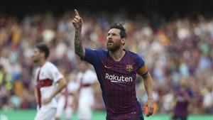 La voracidad goleadora de Messi no tiene límites