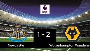 El Wolverhampton Wanderers gana en el St. James Park al Newcastle