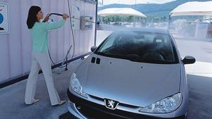 Limpieza del coche