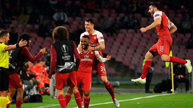 El Arsenal de Emery será el rival del Valencia en la semifinales de la Europa League