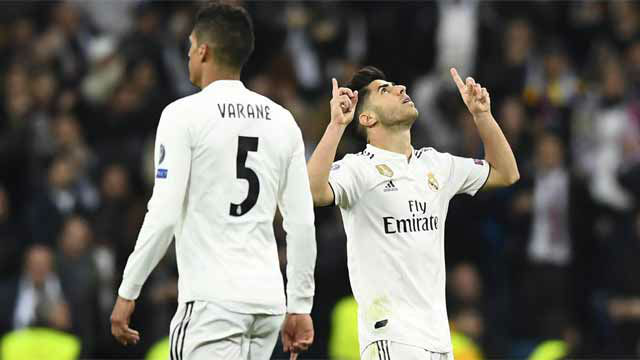 Asensio marcó el gol de honor ante el Ajax