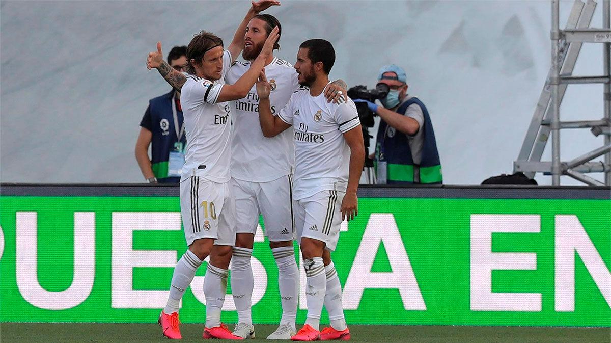 Así narró la radio el gol de Sergio Ramos ante el Eibar