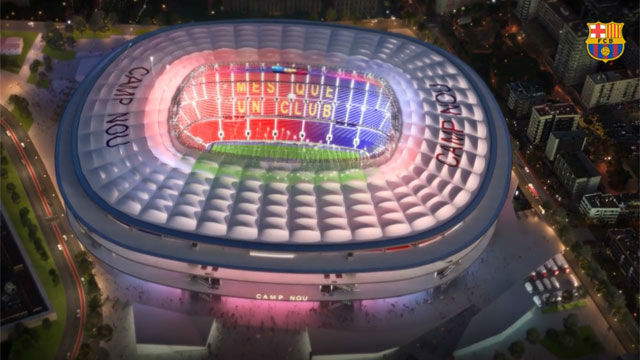 Así será el Espai Barça