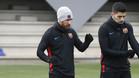 El Barça regresó a los entrenamientos tras dos días de fiesta