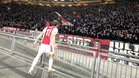 Blind celebrando el gol del triunfo