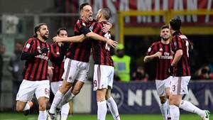 Bonaventura abrió la lata para el Milan