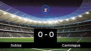 El Cantolagua consigue un empate a cero ante el Subiza