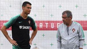 Cristiano no acudía a una concentración portuguesa desde el Mundial