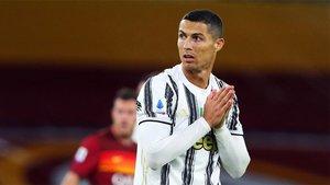 Cristiano Ronaldo, en una imagen con la Juventus