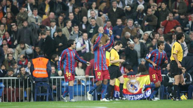 Se cumplen 14 años del día que Ronaldinho puso en pie al Bernabéu