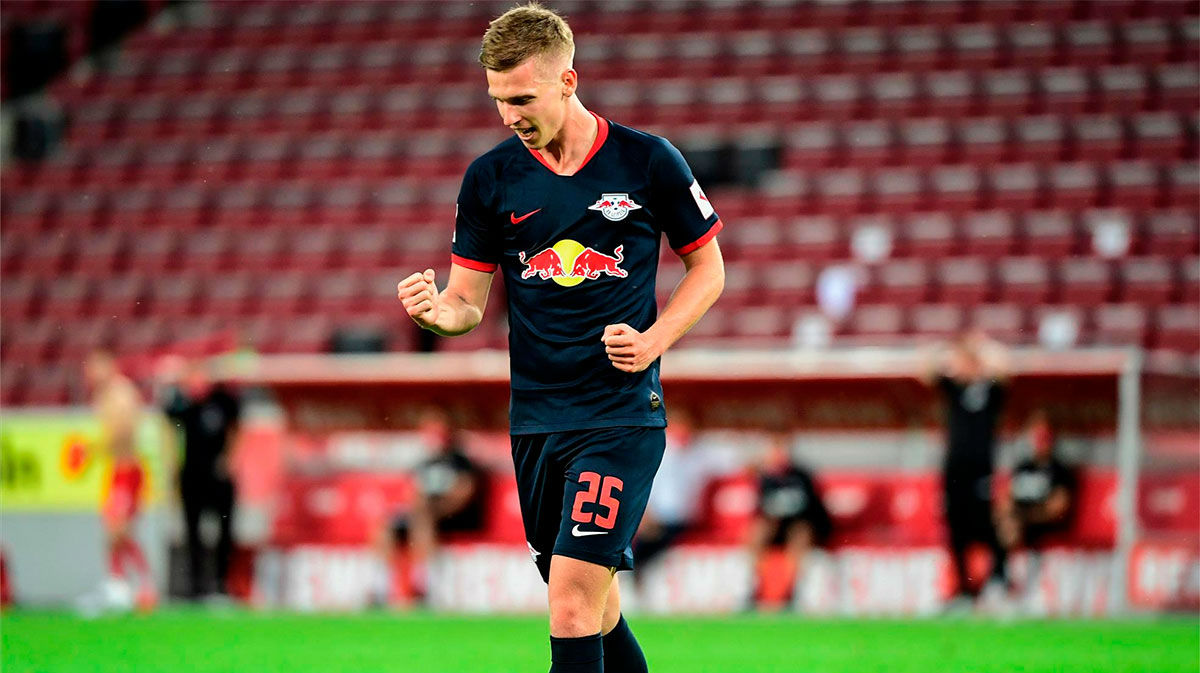 Dani Olmo se estrena en la victoria del RB Leipzig
