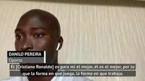 Danilo Pereira: Cristiano quiere pasar a la posteridad, nadie le gana en mentalidad y trabajo