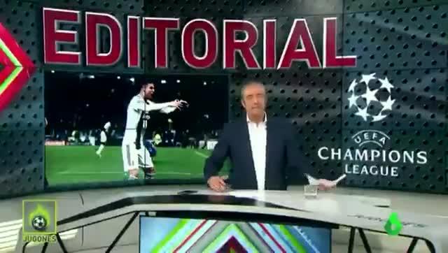 La defensa a ultranza de Pedrerol a Cristiano Ronaldo frente a la UEFA