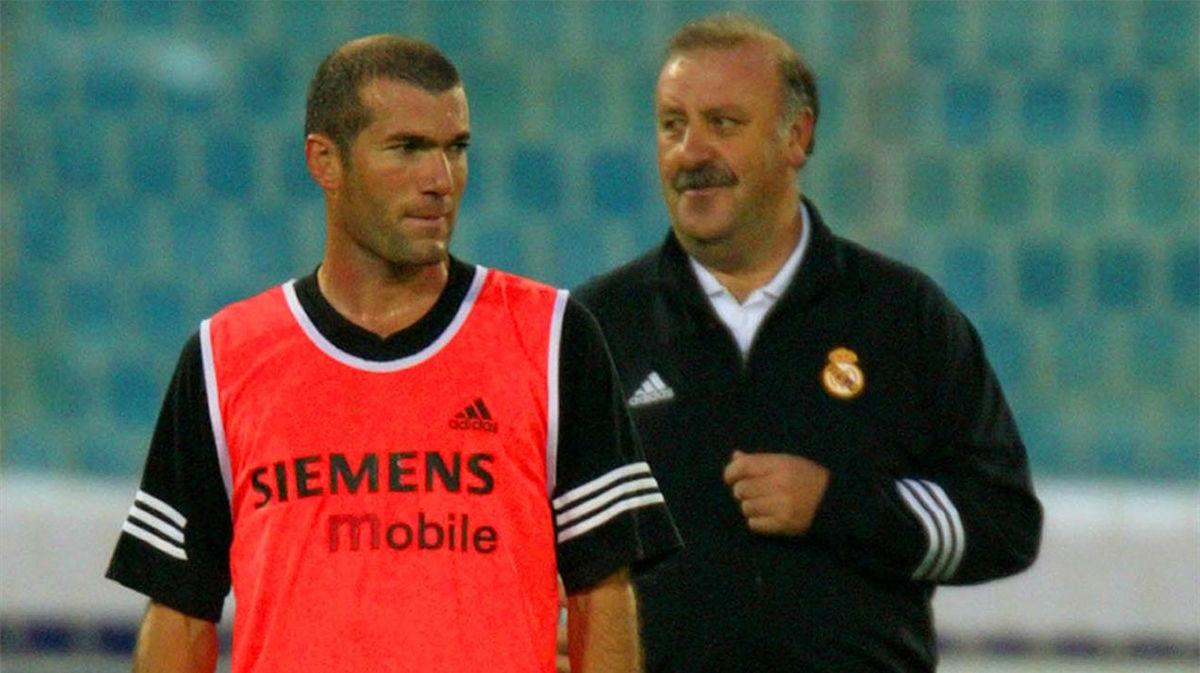 Del Bosque sobre Zidane: No se le puede pedir más