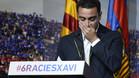 La despedida de Xavi Hernández del Barça