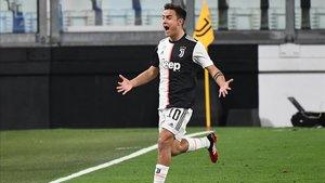 Dybala entró en la segunda parte para marcar el gol de la sentencia bianconera