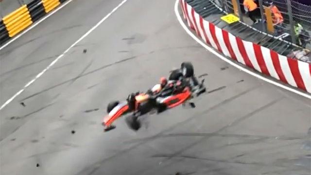 ¡Escalofriante! El accidente en la Formula 3 que está dando la vuelta al mundo