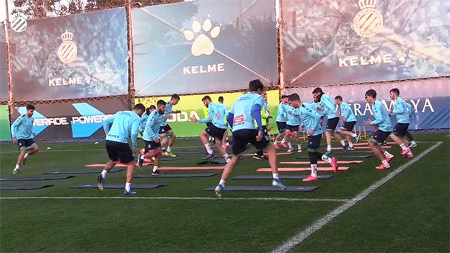 El Espanyol, tocado tras derrota Liga Europa, prepara el partido contra el Valladolid