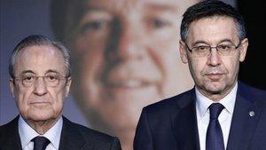 Florentino mostró sus respetos al Barça
