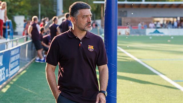 García Pimienta explica cuáles son los objetivos del Barça B