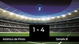 El Getafe B se impone por 1-4 al Atlético de Pinto