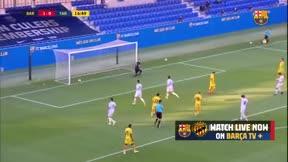 Griezmann marcó de penalti...cedido por Messi