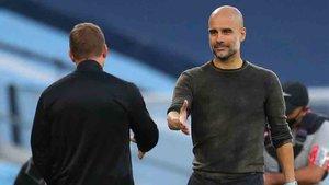Guardiola se enfrenta a Bielsa en la Premier League