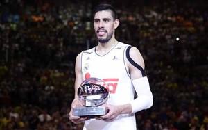 Gustavo Ayón, MVP de la Copa del Rey