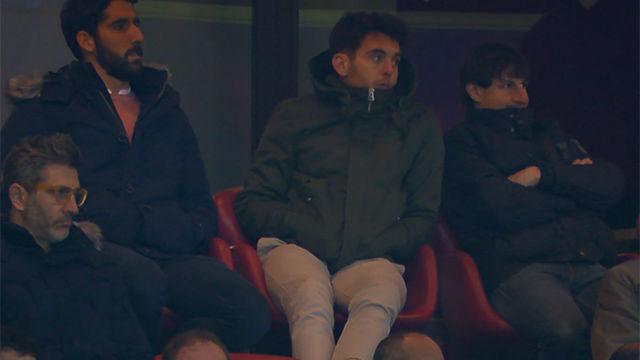 Ibai Gómez vio a su Athletic caer ante el Sevilla