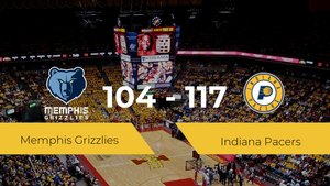 Indiana Pacers vence a Memphis Grizzlies (104-117)