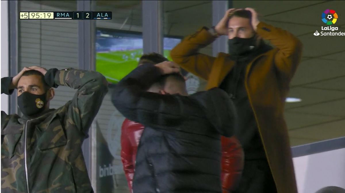 Isco pudo empatar el partido el los últimos segundos del partido
