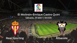 Jornada 40 de la Segunda División: previa del duelo Real Sporting - Albacete