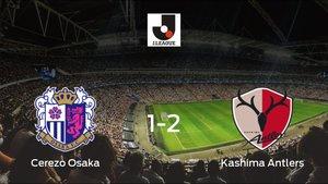 El Kashima Antlers suma tres puntos a su casillero ante el Cerezo Osaka (1-2)