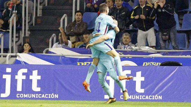 LALIGA 123 | Tenerife - Barça B (1-3): El hat trick de Carles Pérez