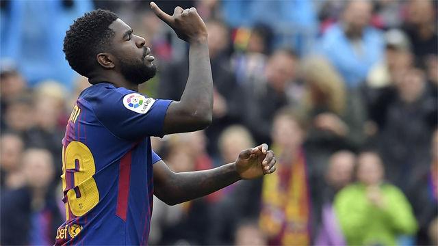LALIGA | FC Barcelona - Valencia (2-1): El gol de Umtiti
