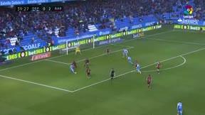 LALIGA   Deportivo - FC Barcelona (2-4): El gol de Lucas