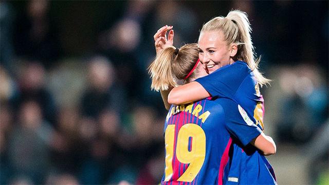 LALIGA FEMENINA | FC Barcelona - Madrid CFF (7-0)