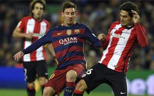 Leo Messi fue sustituido por Arda Turan